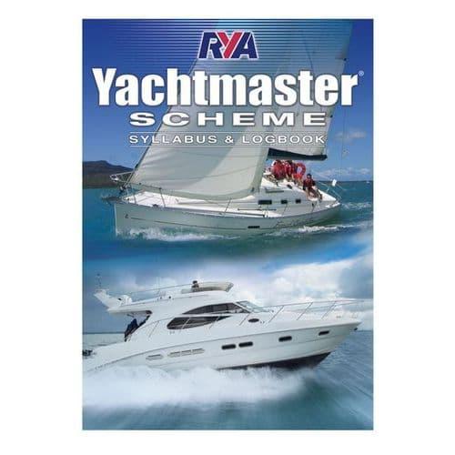 RYA YachtMaster Scheme Syllabus and Logbook (G158)